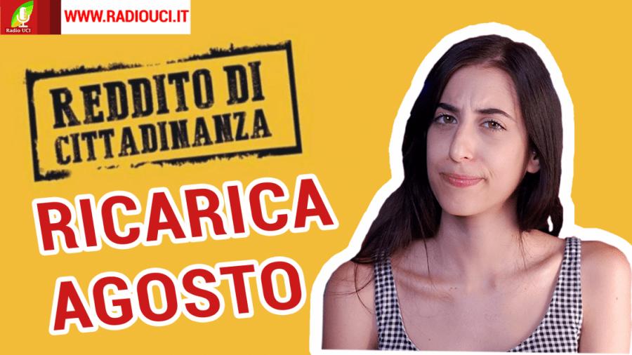#RDC: RICARICA AGOSTO