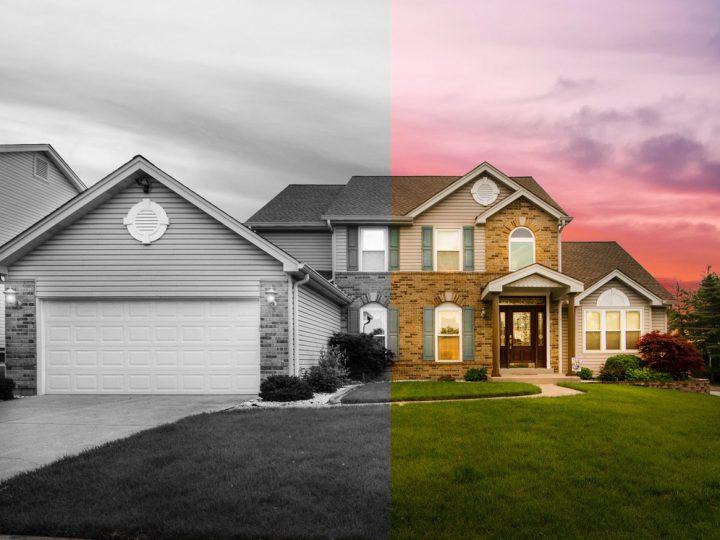 casa divisa a metà per separazione