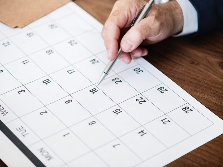 calendario 2020 dsu