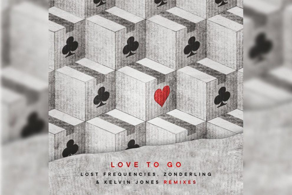 LOST FREQUENCIES, ZONDERLING E KELVIN JONES INSIEME CON LOVE TO GO