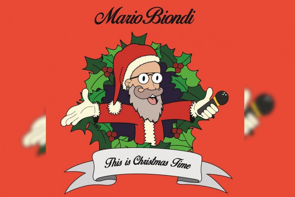 THIS IS CHRISTMAS TIME, ECCO IL NUOVO SINGOLO DI MARIO BIONDI