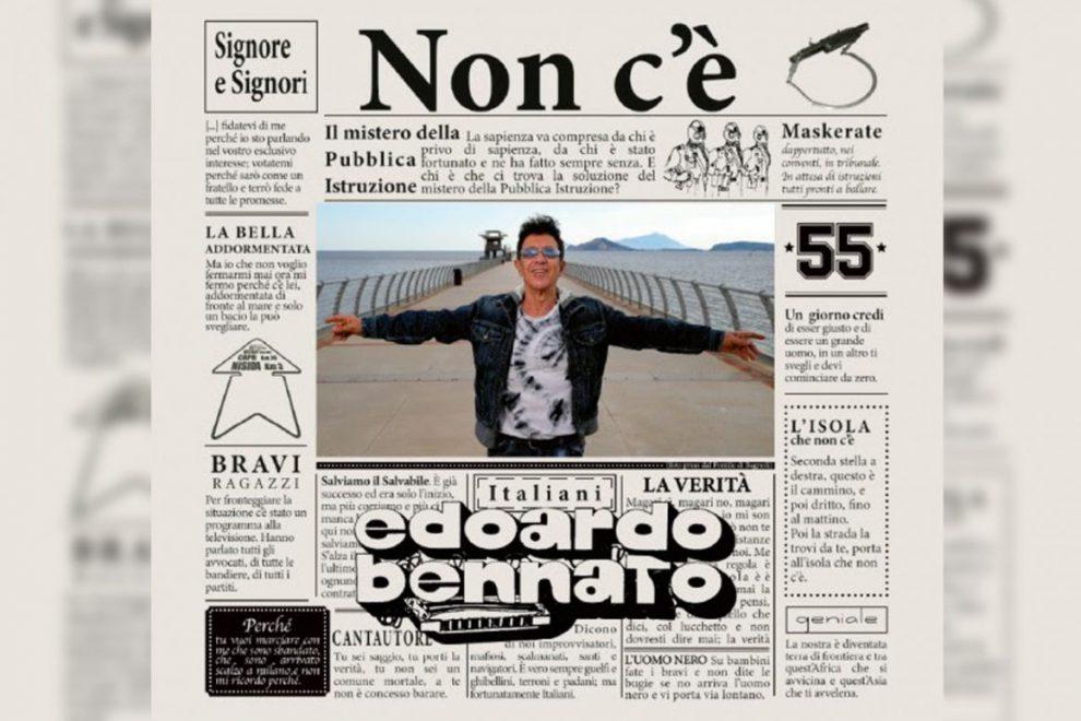 EDOARDO BENNATO IN RADIO CON IL NUOVO SINGOLO MASKERATE